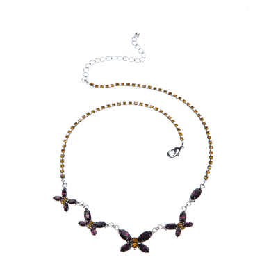 Butterfly motive necklace