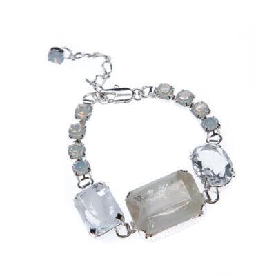 elegant bracelet, silver plating