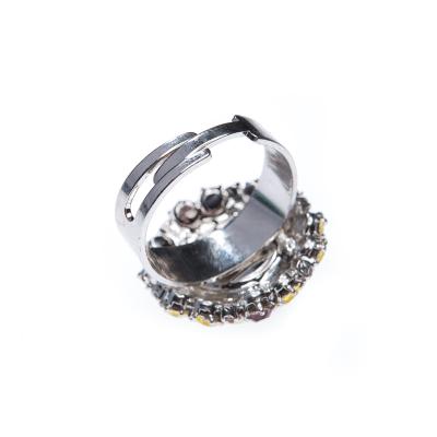 Beautiful ring made from czech rhinestones