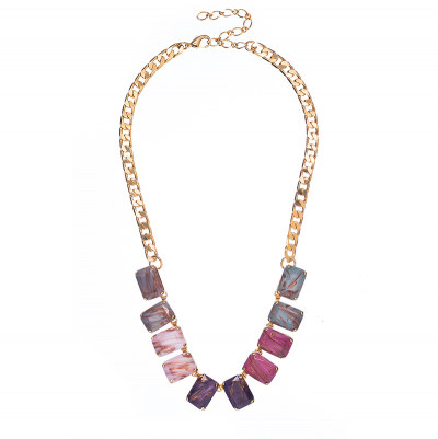 Stylish necklace in multiple colors